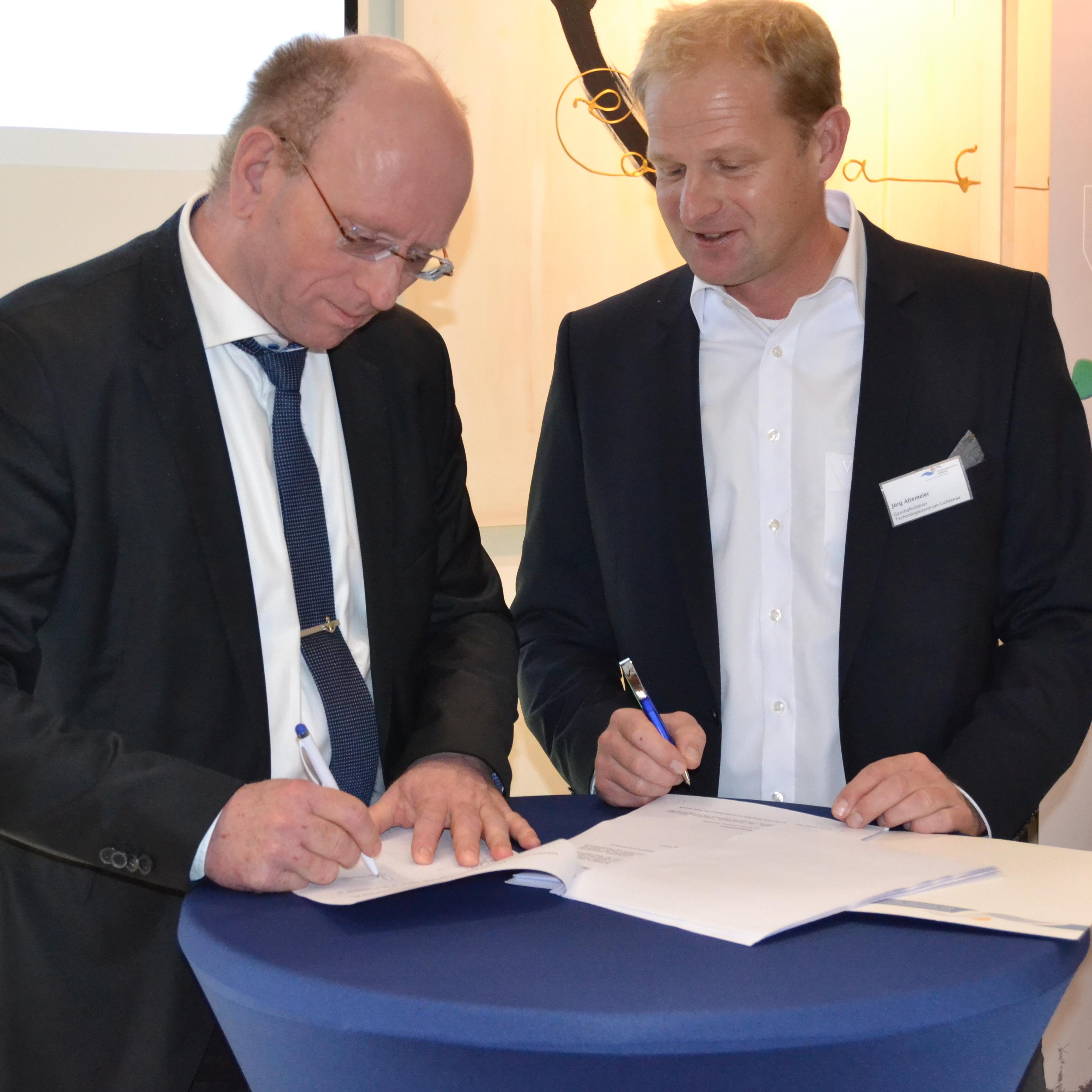 Unterschriftsunterzeichnung ENERCON